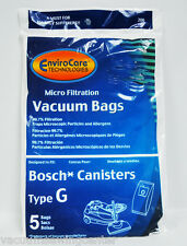 Bosch Type G Canister Vacuum Cleaner Bags 02-2400-09