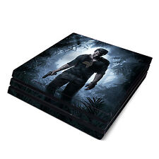 Skin Decal Cover Sticker for Sony PS4 Pro - Uncharted