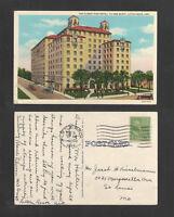 1940 THE ALBERT PIKE HOTEL 7th AND SCOTT LITTLE ROCK ARK POSTCARD