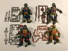 TMNT Lot Set Tales Jokester Mikey Tech Donnie Hothead Raph Mighty Leo Complete
