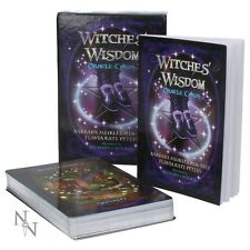 Witches Wisdom Oracle Cards ~Stunning deck of cards and information book