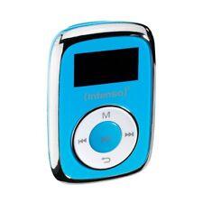 Intenso Music Mover 8GB blau MP3-Player Musikplayer Micro-SD Karten Slot Musik