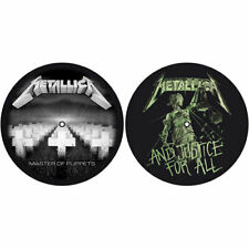 Metallica Slipmat Set: Master of Puppets / and Justice for All
