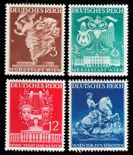 Deutsches Reich 768/71 **  Wiener Frühjahrsmesse 1941, postfrisch