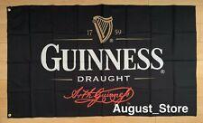 Guinness Draught Beer Flag 3x5 ft Banner