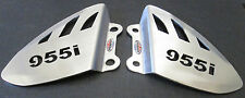 Triumph Daytona 955i (99-01)Stainless Steel Foot Peg Heel Plates Beowulf HPTR004
