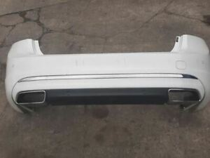 Rear Bumper S60 T5 Without Park Assist Fits 14-18 VOLVO S60