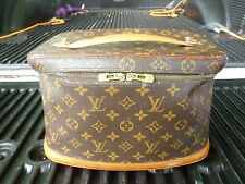 "VINTAGE LOUIS VUITTON VANITY CASE ""AS IS"""