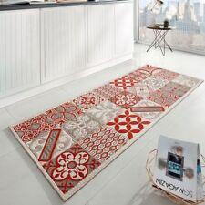 design cuisine COUREURS TISSU A PLAT ACCENT fliesenoptik rouge beige 80x200 cm
