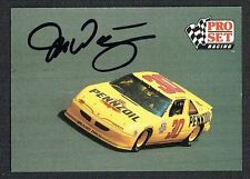Michael Waltrip #60 signed autograph auto 1991 Pro Set NASCAR Trading Card