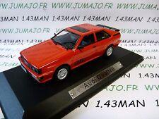 AK17 voiture 1/43 ixo atlas Auto Klassiker : Audi quattro rouge