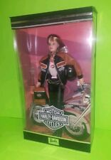 1999 Harley-Davidson Barbie Third in a Collector Series Blonde Doll New
