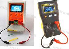 Capacitor Capacitance ESR Meter Tester Combo DMM MESR-100 + M4070 LCR meter