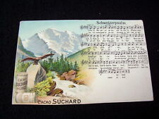 LOVELY AND VERY OLD PPC~SCHWEIZERPSALM~ADVERTISING CACAO SUCHARD~UNDIVIDED