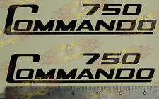 Norton 750 Commando Side Cover Sticker Decals 1 pair Any Color or paint mask New