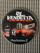 Def Jam Vendetta (Sony, PS2) Disc Only, TESTED & WORKING Black Label