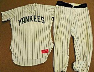1970's NEW YORK YANKEES Game Worn Used Uniform - Frank VERDI - Coach & Manager