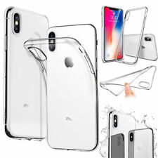 For Apple iPhone X 8 / 8 Plus Ultra Thin Rubber Silicone Case Gel TPU Soft Cover