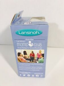NEW Lansinoh Contact Nipple Shields 2 Count 24mm Size 2 with Carry Case Nursing