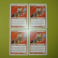 Raging Goblin x4 8th Eighth Edition 4x Playset Magic the Gathering MTG