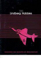 Catalog Lindberg Hobbies 1988