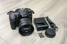 Nikon D7200 24.2MP DSLR Camera with DX 35mm 1.8G Lens - Shutter Count 6273