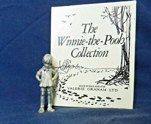 RARE EH SHEPARD FOR VALERIE GRAHAM PEWTER WINNIE THE POOH Christopher Robin