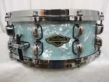 "Tama Starclassic Walnut/Birch 14"" Dia.X 5.5"" Deep Snare Drum/Ice Blue Pearl/New"