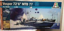 ITALERI 1/35 5610 VOSPER ha MTB 77 Modello di Nave Kit + parti incise Sigillato in Fabbrica