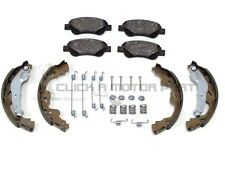 PEUGEOT 107 1.0  2005 TO 2015 FRONT BRAKE PADS & REAR SHOES + FITTING KIT