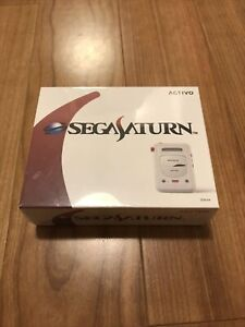 Activo CT-10 Sega Saturn Limited Edition Audio Player White Model NEW! Groovers