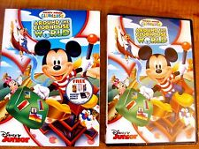 Mickey Mouse Clubhouse: Around the Clubhouse World (DVD, 2014)New Rare,Slipcover