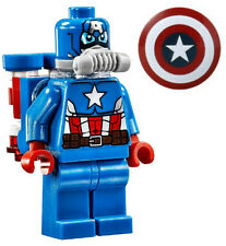 NEW LEGO SPACE CAPTAIN AMERICA MINIFIG 76049 marvel figure minifigure avengers