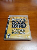 Rock Band: Country Track Pack (Sony PlayStation 3, 2009) PS3 CIB Complete