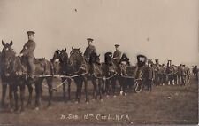 WW1 soldier 16th County of London Battery RFA Royal Field Artillery Brixton