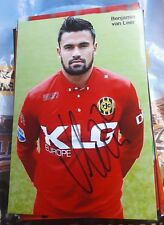 Signiertes Foto Benjamin van Leer Ajax Amsterdam  NEU Roda Kerkrade