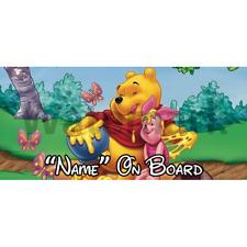 Winnie l'ourson personnalisé bébé à bord voiture signe (1)