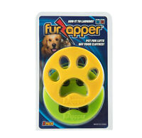 FurZapper 2 Pack Pet Hair Remover Cat Fur Dog Hair for  Laundry-Add to Washer
