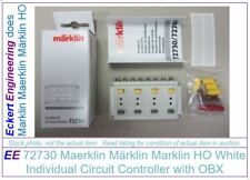EE 72730 NEW Marklin White Control Box Individual Circuit Controller OBX Box