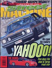 Street Machine 1997 Jun VR UTE '66 FAIRLANE HG UC SCORPION V6 '70 CUDA LJ V8
