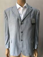 Men's 48R Silk Wool 3 Button Blazer Jacket Sports Coat $249
