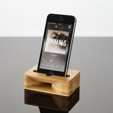 New Wood Stand Acoustic Desktop Stand Holder As Loud-speaker for iPhone