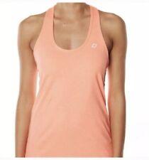 Nwt Lorna jane Helena Excel Tank - Size Xs Neon Apricot Marl / Orange