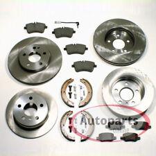 Mercedes A Klasse w169 Bremsen Set Backen Handbremse Zubehör für vorne hinten*