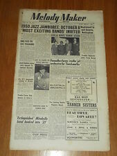 MELODY MAKER 1950 #875 MAY 13 JAZZ SWING BING CROSBY FENOULHET FRANK BARON FOX