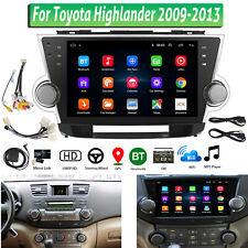 10.2 inch Car Stereo Radio Gps Navigation For Toyota Highlander Android 8.1 Nav