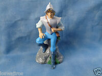 """Disney Store Pocahontas John Smith PVC Action Figure Statue 4"""""""
