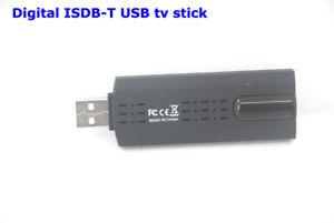 ISDB-T usb digital tv receiver Dongle Full one Segment pc computer notebook