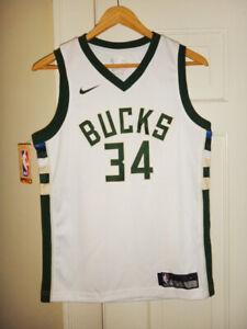 camisetas sin mangas unisex Jersey de baloncesto Shelfin Giannis Antetokounmpo No.34 Milwaukee Bucks Swingman ropa deportiva Swingman color: verde, tama/ño: peque/ño