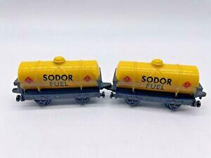 Thomas The Tank Engine & Friends Train Sodor Fuel Tanker Lot 1/64 Fast Free Ship